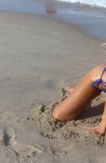 NADEA VOLIANOVA in Bikini on the Set of a Photoshoot on Miami Beach 07/15/2017