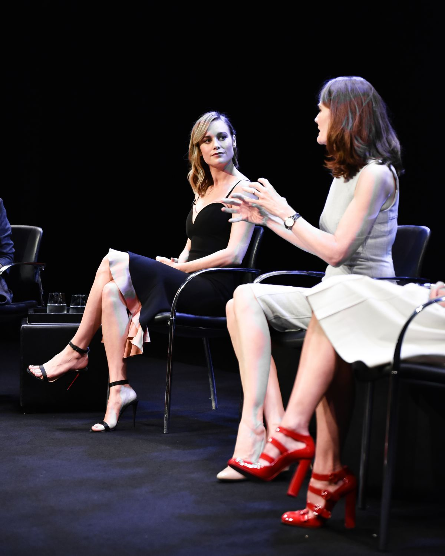 NAOMI WATTS and BRIE LARSON at New York Times Presents Timestalks 08/08/2017