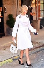 NAOMI WATTS Heading to Today Show in New York 08/09/2017