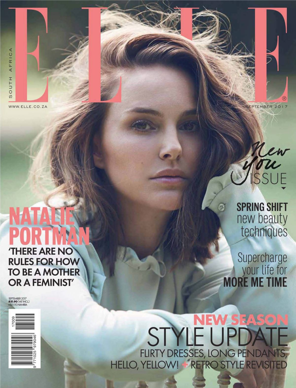 Elle Magazine France February March: NATALIE PORTMAN In Elle Magazine, South Africa Aeptember