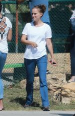 NATALIE PORTMAN Out and About in Los Angeles 08/23/2017