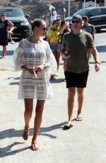 NATASHA POLY on Vacation in Mykonos 08/17/2017