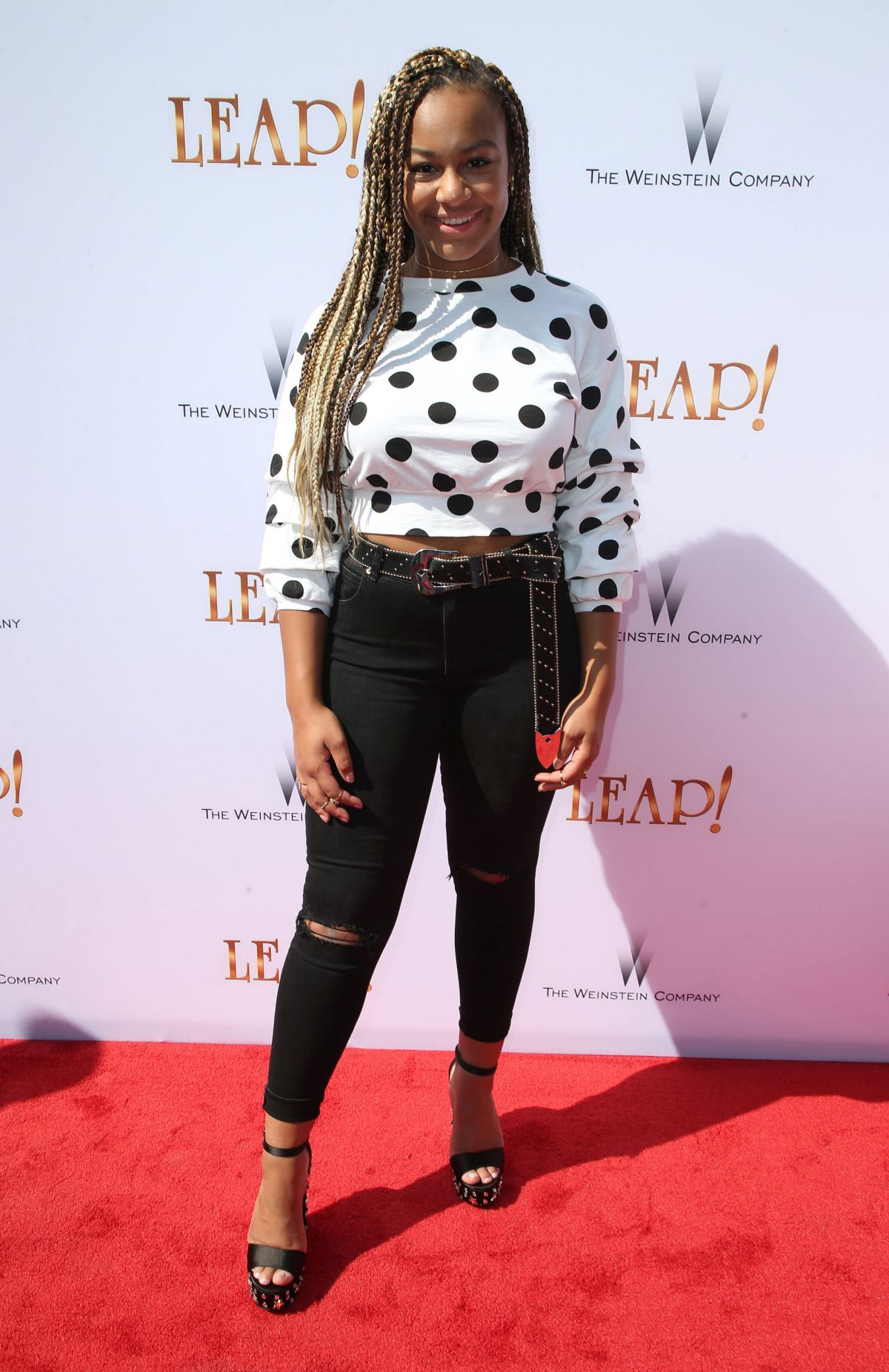 NIA FRAZIER at Leap! Premiere in Los Angeles 08/19/2017