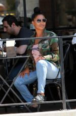 NIA LONG Out for Lunch at Joan