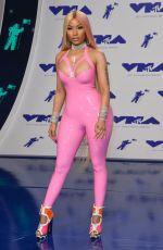NICKI MINAJ at 2017 MTV Video Music Awards in Los Angeles 08/27/2017
