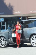 NICOLE MURPHY Out Shopping in Beverly Hills 08/19/2017