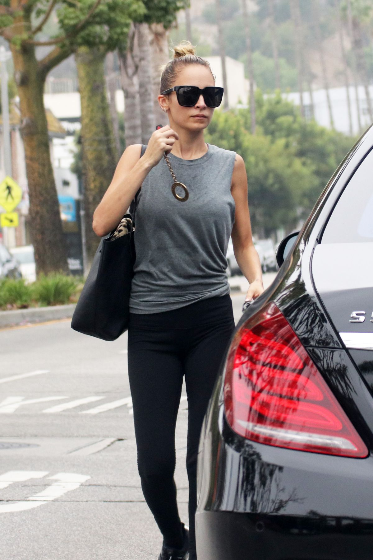 NICOLE RICHIE Leaves Tracey Anderson