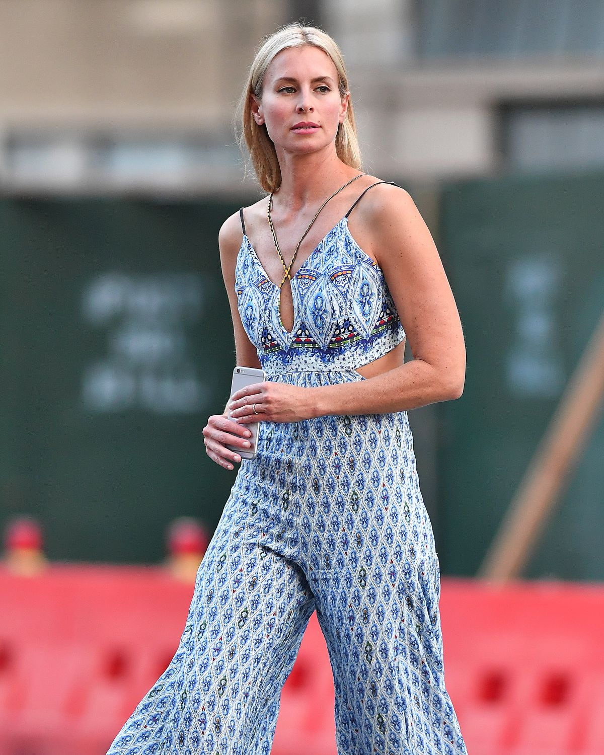 NIKI TAYLOR Out and About in New York 08/01/2017
