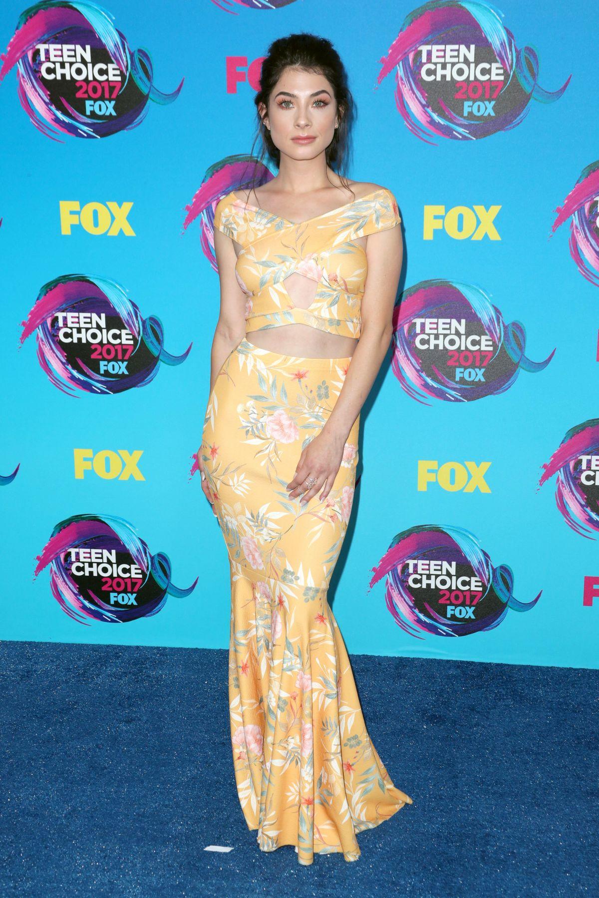 NIKKI KOSS at Teen Choice Awards 2017 in Los Angeles 08/13/2017