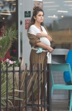 NIKKI REED Out Shopping in Los Angeles 08/29/2017