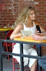 NINA AGDAL ant Tarik Sansal Preview New Romio App in New York 08/20/2017