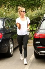 NINA AGDAL Out and About in Hamptons 08/07/2017