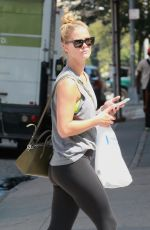NINA AGDAL Out Shopping in New York 08/10/2017