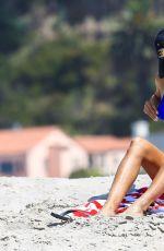NOUREEN DEWULF in Bikini at a Beach in Santa Monica 08/04/2017