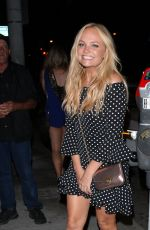 EMMA BUNTON at Catch LA in West Hollywood 08/04/2017