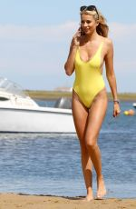 OLIVIA ATTWOOD in Swimsuit at a Beach in Portugal 05/10/2017