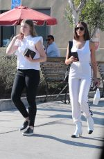 OLIVIA CULPO All in White Out in Los Angeles 08/04/2017