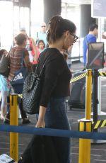 OLIVIA MUNN Arrives in Vancouver 08/08/2017