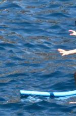 OLIVIA PALERMO in Bikini at a Boat in Capri 08/13/2017
