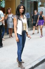 PADMA LAKSHMI Out in New York after Court Appearance 08/09/2017