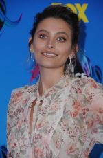 PARIS JACKSON at Instyle's Day of Indulgence Party in Brentwood 08/13/2017