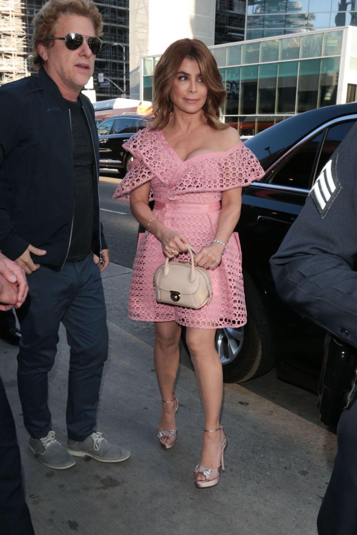 PAULA ABDUL at Hamilton's Opening Night in Hollywood 08/16/2017