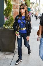 PAULA ABDUL Out and About in Los Angeles 08/18/2017