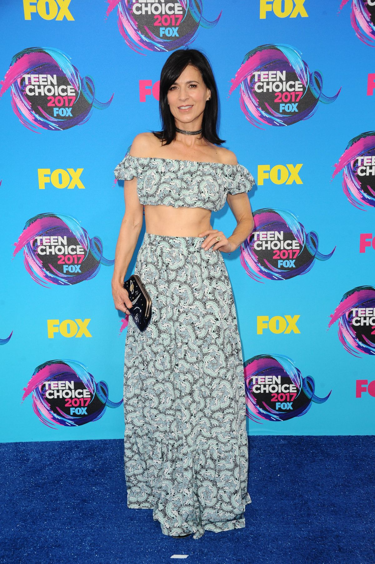 PERREY REEVES at Teen Choice Awards 2017 in Los Angeles 08/13/2017