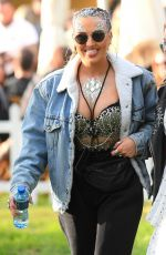 PERRIE EDWARDS at V Festival in Chelmsford 08/19/2017