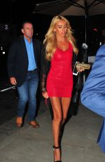 PETRA ECCLESTONE Out for Dinner at Tao in Los Angeles 08/30/2017
