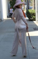 PHOEBE PRICE Out Shopping in Beverly Hills 08/28/2017