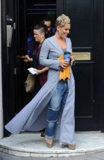 PINK at Liss FM UK in London 08/16/2017