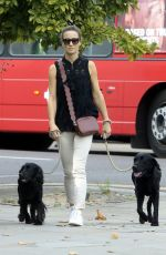 PIPPA MIDDLETON Walks Her Dogs at Kings Road in London 08/23/2017