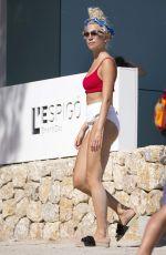 PIXIE LOTT in Swimear at a Beach in Mallorca 08/24/2017