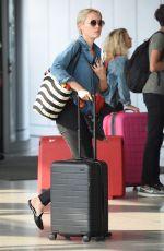 POM KLEMENTIEFF at JFK Airport in New York 08/21/2017