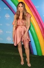 Pregnant DIANA MADISON at True and the Rainbow Kingdom Premiere in Los Angeles 08/10/2017