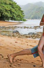 Pregnant HEIDI MONTAG in Bikini at a Beach in Hawaii 08/09/2017