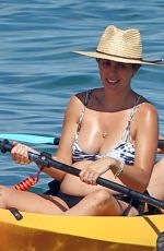 Pregnant JAMIE-LYNN SIGLER in Bikini at a Beach in Maui 08/23/2017