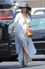Pregnant JESSICA ALBA Out in Los Angeles 08/26/2017