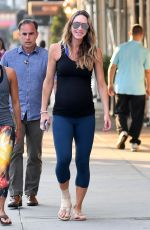 Pregnant LARA TRUMP Out Jogging in Central Park in New York 08/20/2017