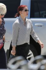 PRISCILA PRESLEY Arrives at LAX Airport in Los Angeles 08/08/2017