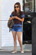 RACHEL BILSON Out and About in Los Angeles 08/29/2017