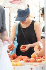 RACHEL MCADAMS Shopping at Farmer