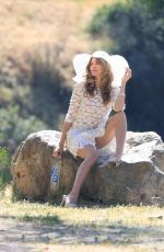 RACHEL MCCORD on the Set of 138 Water Photoshoot in Hollywood Hills 08/03/2017