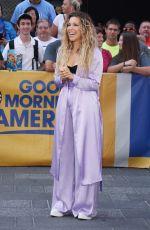 RACHEL PLATTEN Arrives at Good Morning America in New York 08/21/2017