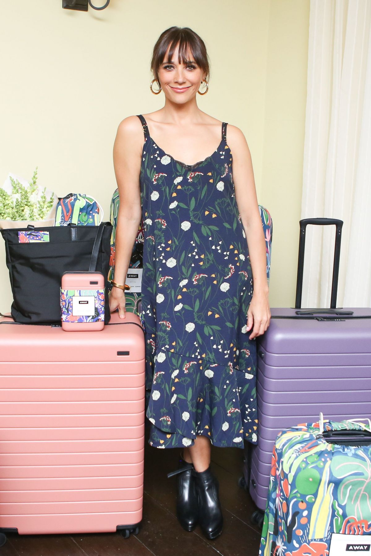 RASHIDA JONES at Launch Party for Away Luggage Collaboration in Los ANgeles 08/22/2017