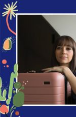 RASHIDA JONES for Away Travel Luggage 2017 Ad Campaign
