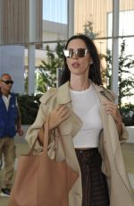 REBECCA HALL Arrives at Airport in Venice 08/29/2017