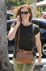 REBECCA MADER Out and About in Los Angeles 08/14/2017