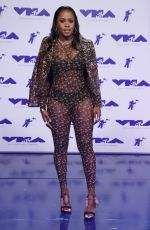 REMY MA at 2017 MTV Video Music Awards in Los Angeles 08/27/2017